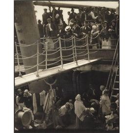 Artwork by Alfred Stieglitz, The Steerage, 1907, Made of Large-format photograph on Japanese tissue
