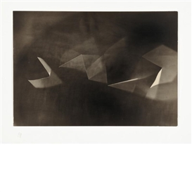 Artwork by György Kepes, Untitled: Light Abstraction, Made of Gelatin silver print