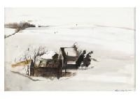 Winter By Andrew Wyeth
