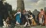 Pieter Lastman, Jesus und die Kanaaniterin