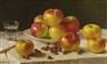 John F. Francis, APPLES ON A TABLE