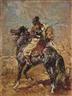 Henri Rousseau, Cavalier oriental