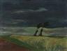 Heinrich Nauen, Stürmische Landschaft
