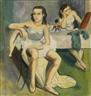 Otto Schoff, Balletteusen in der Umkleidekabine