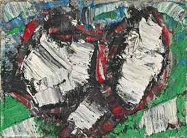 Artwork by Jean-Paul Riopelle, Nouvelles Impressions No. 46, Made of oil on canvas