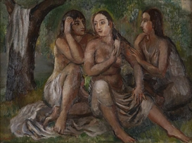 Bernard Karfiol, ''Three Figures'', or 'Three Young Women'