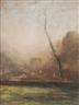 Francois-Auguste Ravier, Paysage à l'arbre