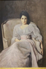 Artwork by John Singer Sargent, LADY AGNEW OF LOCHNAW, Made of oil