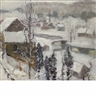Jonas Lie, Snowing