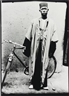 Seydou Keïta, Untitled (Man with Bicycle)