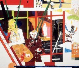 R. B. Kitaj: Don't Listen to the Fools at Albright-Knox Art Gallery