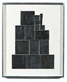 Artwork by Louise Nevelson, The Great Wall, Made of Lead intaglio on paper