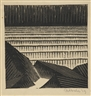 M.C. Escher, Blocks Of Basalt Along The Sea