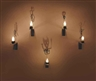 Christian Boltanski, 5 works: Les Bougies (Five Candle Piece)