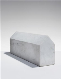 Artwork by Louise Bourgeois, House, Made of Marble