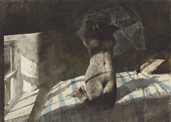 Winfields By Andrew Wyeth ,1977