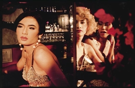 Artwork by Nan Goldin, At the Bar: Toon, C, So, Bangkok, Made of Cibachrome print