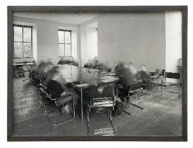 Artwork by Michael Wesely, JOHANNES MEINHARDT SEMINAR BILD, Made of Gelatin silver print