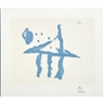 Robert Motherwell, Summer Trident from the Harvey Gantt portfolio
