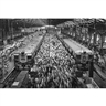 Sebastião Salgado, Church Gate Station, Bombay, India