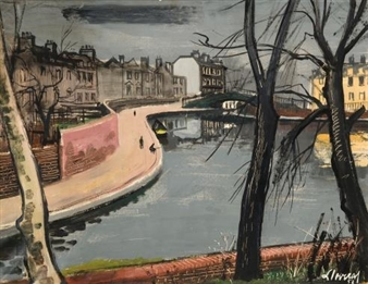 Little Venice Canal London By Federico Lloveras Herrera ,1958
