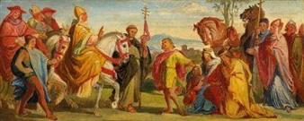 Artworks of Alfred Rethel (German, 1816 - 1859)