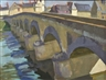 William John Leech, The Bridge, Amboise