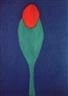 Carla do Carmo, Blue tulip, pastel on paper, 29,7 x 42 cm, 100,00 EUR  USD 139,00