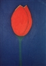 Carla do Carmo, Red tulip, pastel on paper, 29,7 x 42 cm, 100,00 EUR  USD 139,00