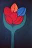 Carla do Carmo, Six tulips, pastel on paper, 60 x 40 cm, 400,00 EUR  USD 555,00