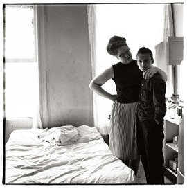 Diane Arbus, Two Friends at Home, N.Y.C, 1965