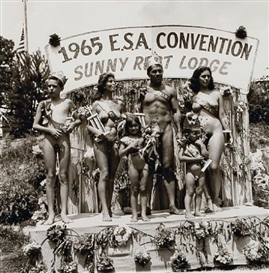 Diane Arbus, FAMILY BEAUTY CONTEST AT A NUDIST CAMP 1965
