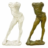 A PAIR OF TORSE DE GRETCHEN (ORIGINAL BRONZE AND MASTER PLASTER MOLD)