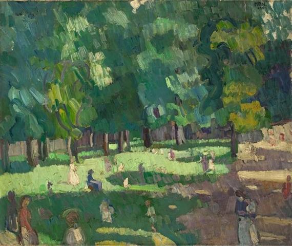 Schön Artwork By Max Beckmann, Kinderspielplatz Alter Botanischer Garten, Made Of  Oil On Canvas