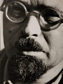 Raoul Hausmann, The painter Karl Schmidt-Rottluff