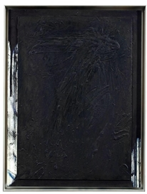 Artwork by Arnulf Rainer, Relief, Made of Oil on thin panel on wood