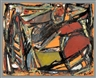 Jackson Pollock, Orange Abstract