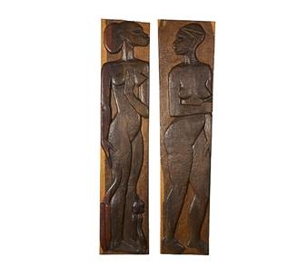 Kaksi afrikkalaista kaunotarta By Michael Schilkin