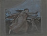 Elihu Vedder, 2 works: drawings