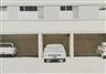 Robert Bechtle, Parkende Autos vor einer Häuserzeile