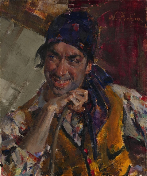 Nicolai fechin portrait of antonio triana oil for Nicolai fechin paintings for sale