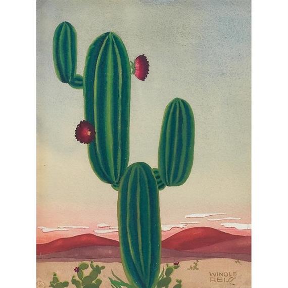 Winold Reiss, Cacti