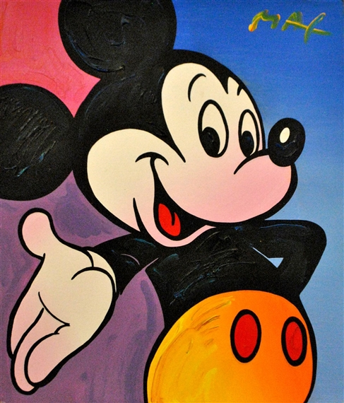peter max disney suite mickey mouse donald. Black Bedroom Furniture Sets. Home Design Ideas