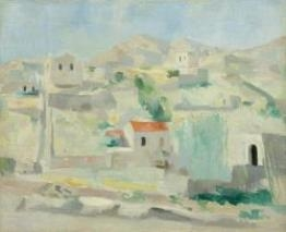 Max Gubler, View of Lipari