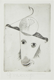 Animal Head By Georg Muche ,1921