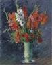 Gustave Caillebotte, Vase de glaïeuls