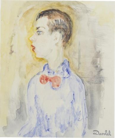 Nils Dardel, Porträtt föreställande Jean Börlin