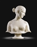 Hiram Powers, BUST OF THE GREEK SLAVE