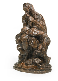 Artwork by Jean-Baptiste Carpeaux, UGOLIN, Made of terracotta