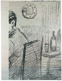 Artwork by Sigmar Polke, UNTITLED, Made of oil on canvas